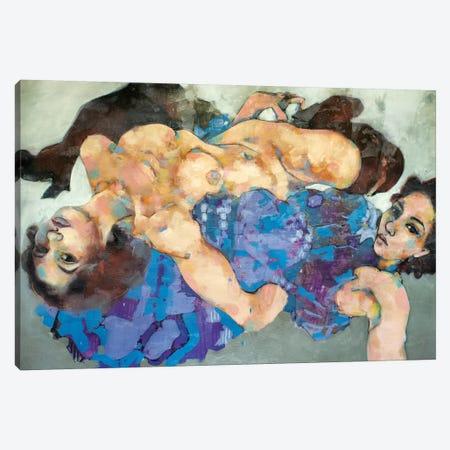 Two Figures 2-11-20 3-Piece Canvas #TDO55} by Thomas Donaldson Canvas Art Print