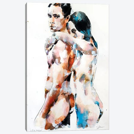 Two Figures 6-26-18 Canvas Print #TDO56} by Thomas Donaldson Canvas Print
