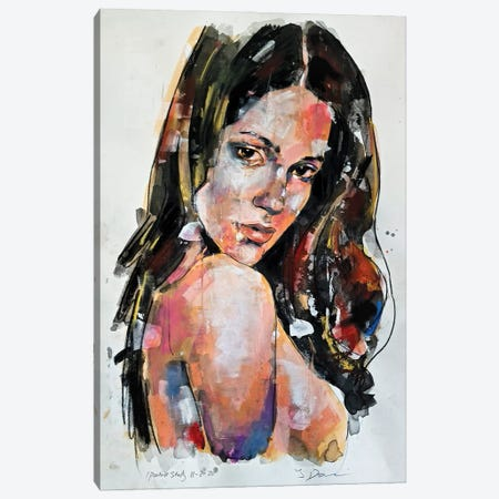 Portrait Study 11-2-20 Canvas Print #TDO58} by Thomas Donaldson Canvas Artwork