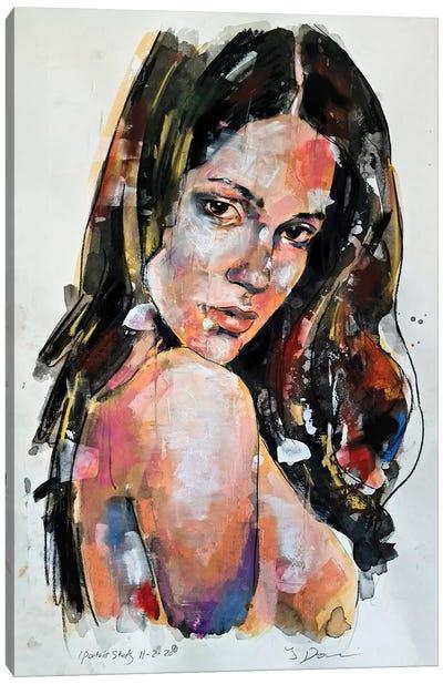 Portrait Study 11-2-20 Canvas Art Print