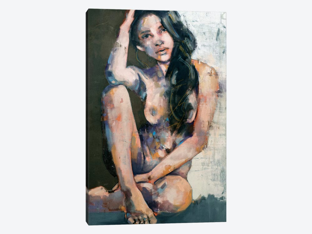 Peacefully Dispirited 7-22-20 by Thomas Donaldson 1-piece Canvas Wall Art