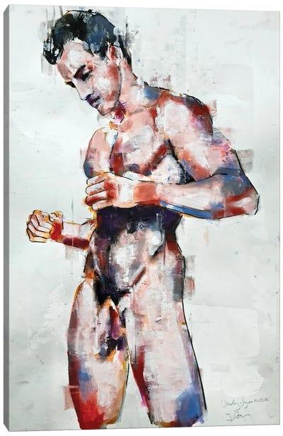 Standing Figure 10-26-20 Canvas Art Print