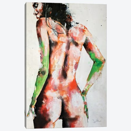 Standing Figure 11-7-20 Canvas Print #TDO69} by Thomas Donaldson Canvas Art Print