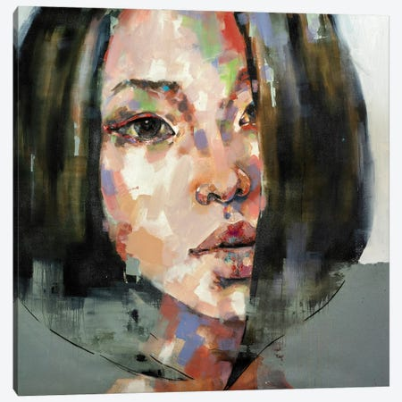 Head Study 4-10-20 Canvas Print #TDO73} by Thomas Donaldson Canvas Art