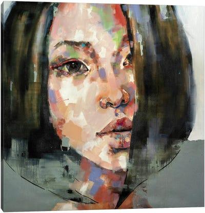 Head Study 4-10-20 Canvas Art Print