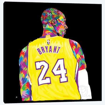 Kobe 3-Piece Canvas #TDR100} by TECHNODROME1 Canvas Print