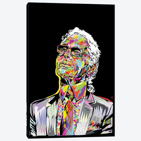 Lagerfeld Canvas Print #TDR101} by TECHNODROME1 Canvas Art Print