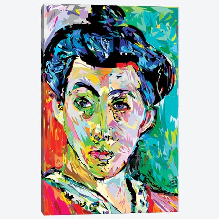 Madame M. (Homage To Henri Matisse) Canvas Print #TDR102} by TECHNODROME1 Canvas Print