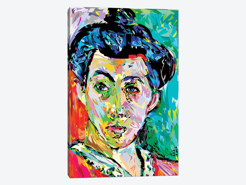 Madame M. (Homage To Henri Matisse) by TECHNODROME1 1-piece Canvas Art Print