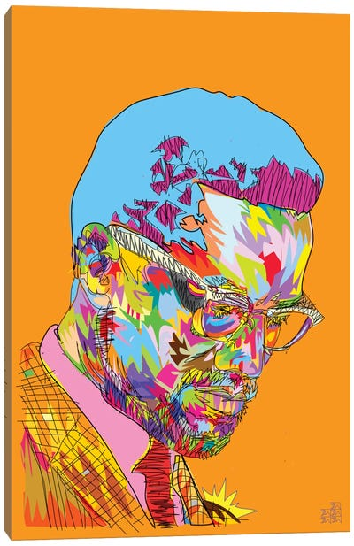 Malcolm X Canvas Print #TDR103