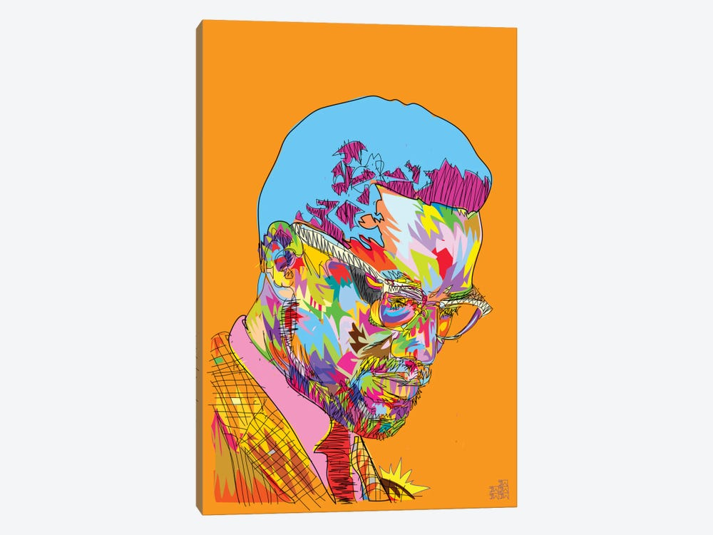 Malcolm X by TECHNODROME1 1-piece Canvas Wall Art