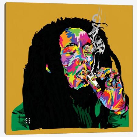Marley Canvas Print #TDR104} by TECHNODROME1 Canvas Art