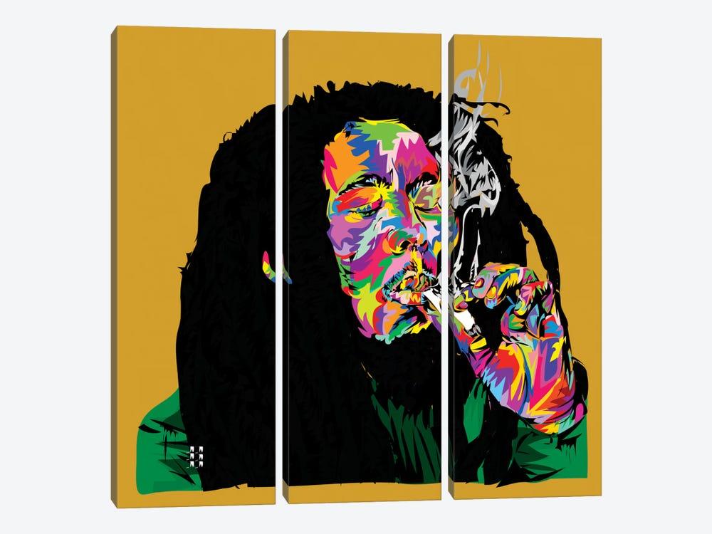 Marley by TECHNODROME1 3-piece Canvas Print