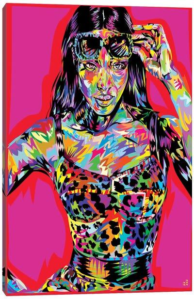 Ms. Campbell Canvas Art Print