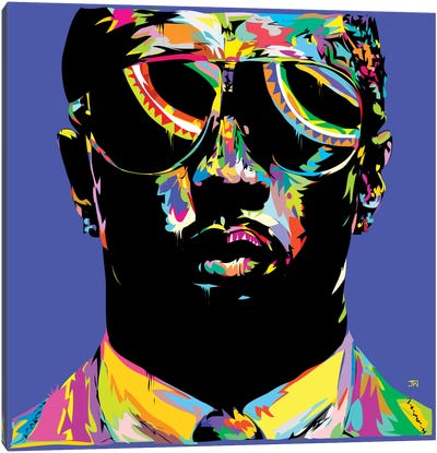 P. Diddy Canvas Art Print