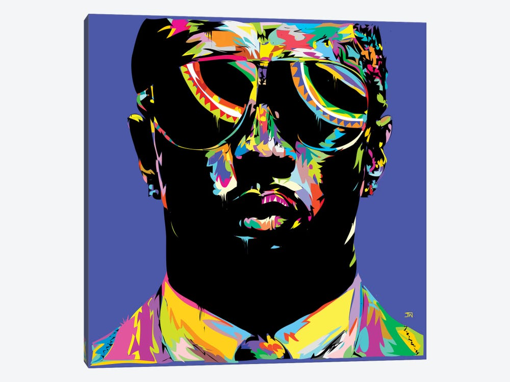 P. Diddy by TECHNODROME1 1-piece Canvas Art