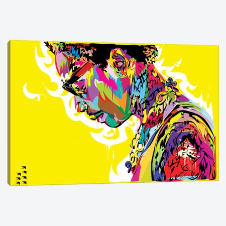 Wiz Canvas Print #TDR113} by TECHNODROME1 Canvas Art