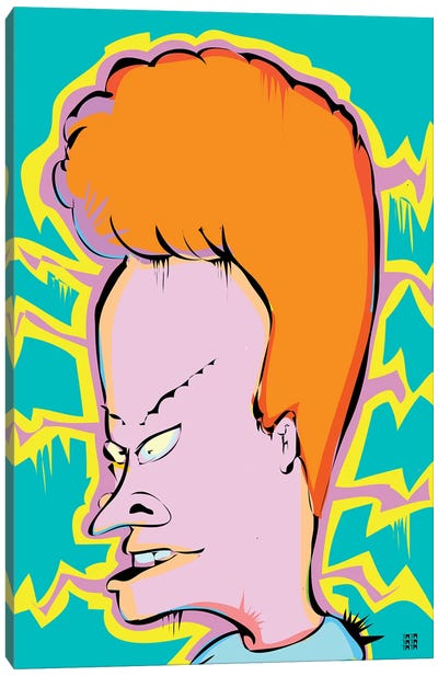 Beavis Canvas Art Print