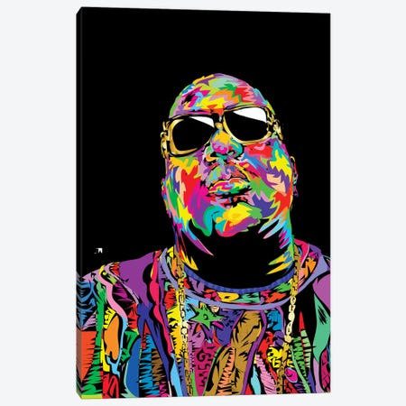 Biggie Canvas Print #TDR115} by TECHNODROME1 Canvas Print