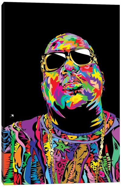 Biggie Canvas Print #TDR115