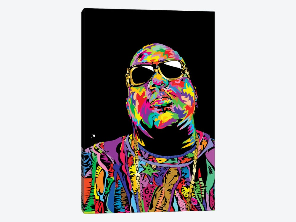 Biggie 1-piece Canvas Art Print