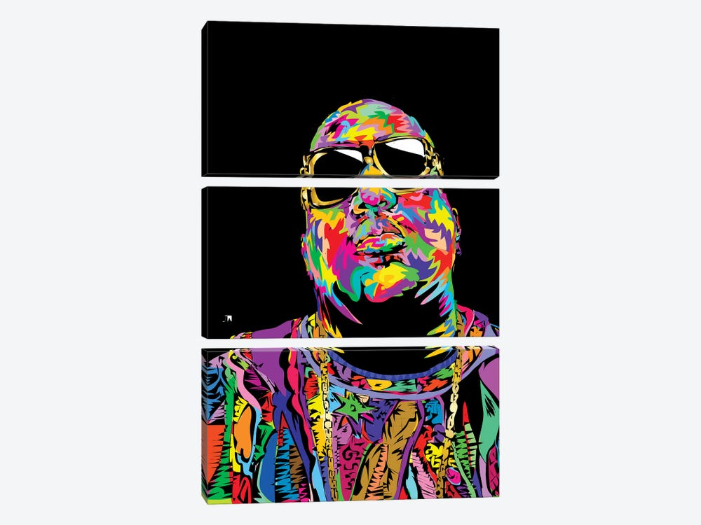 Biggie 3-piece Art Print