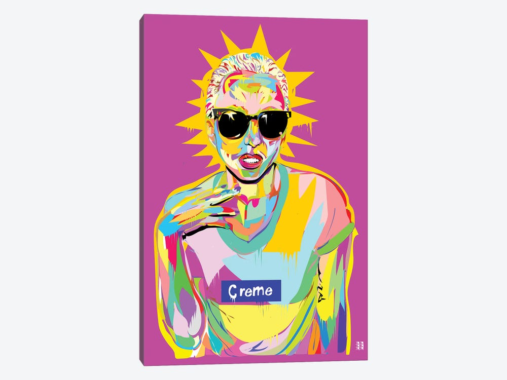 Gaga by TECHNODROME1 1-piece Canvas Print