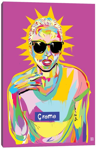 Gaga Canvas Art Print