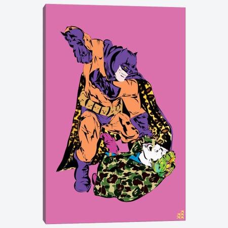 Batman & Joker Canvas Print #TDR11} by TECHNODROME1 Canvas Art Print