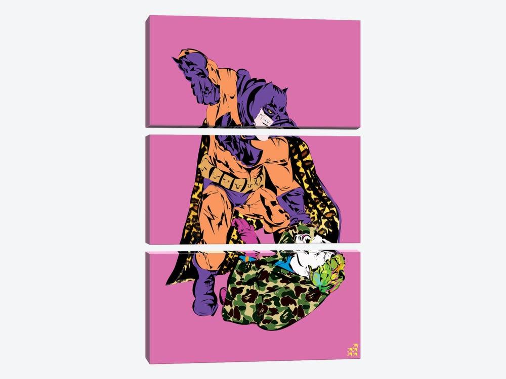 Batman & Joker by TECHNODROME1 3-piece Canvas Art