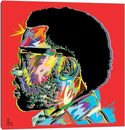 Kanye West I Canvas Print #TDR120