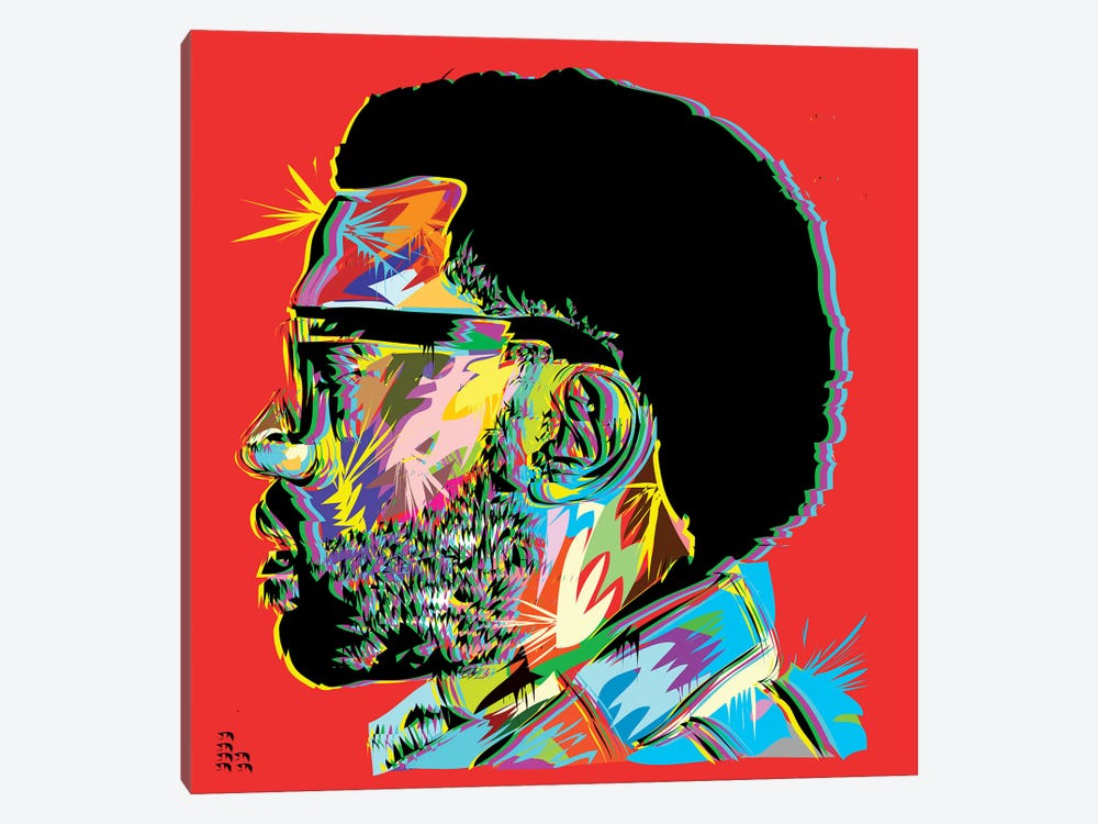 Kanye West I by TECHNODROME1 1-piece Canvas Art Print