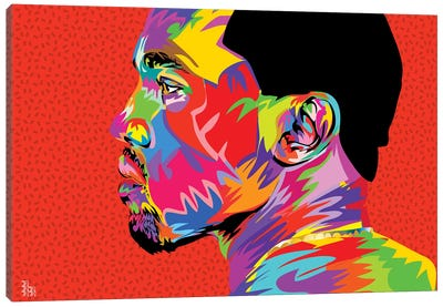 Kanye West II Canvas Art Print