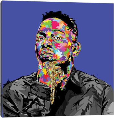 Kendrick I Canvas Art Print