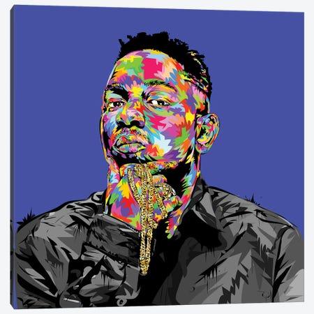 Kendrick I Canvas Print #TDR122} by TECHNODROME1 Canvas Print