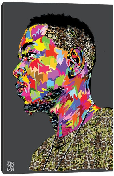 Kendrick II Canvas Art Print
