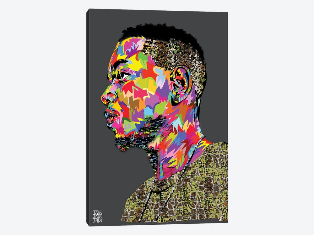 Kendrick II by TECHNODROME1 1-piece Canvas Art