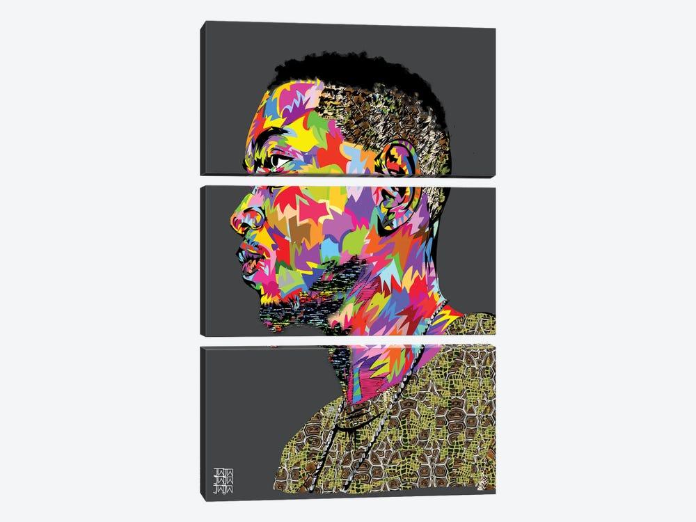 Kendrick II by TECHNODROME1 3-piece Canvas Art
