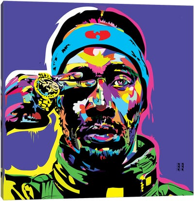 RZA Canvas Art Print