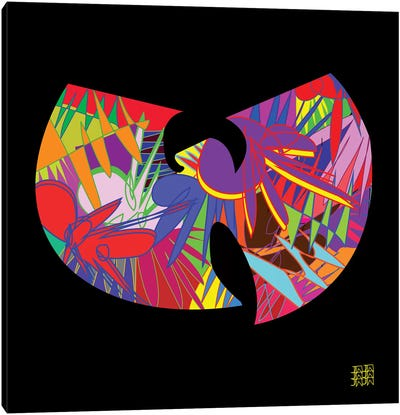 Wu-Tang Canvas Art Print