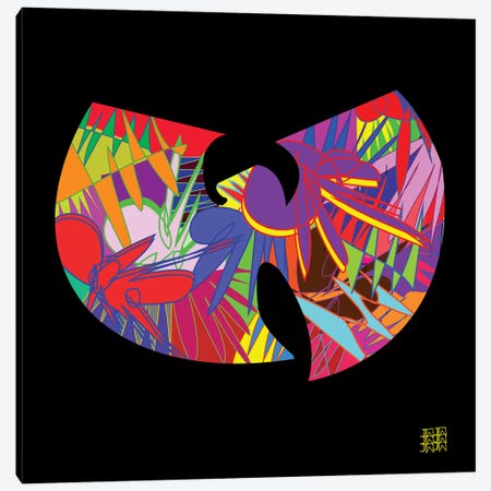 Wu-Tang 3-Piece Canvas #TDR127} by TECHNODROME1 Canvas Wall Art