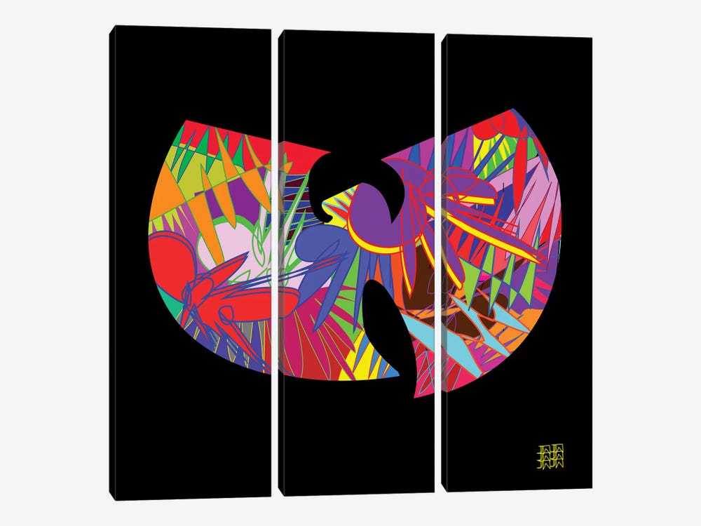 Wu-Tang by TECHNODROME1 3-piece Canvas Artwork