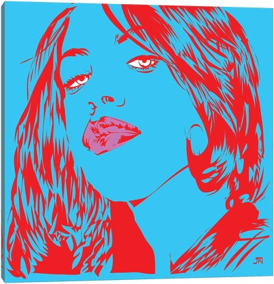 Aaliyah Canvas Art Print