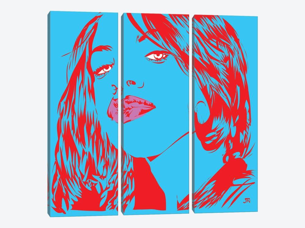 Aaliyah by TECHNODROME1 3-piece Canvas Print