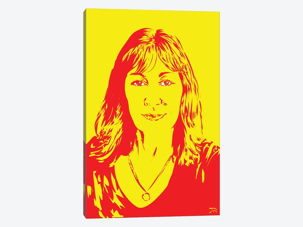 Anjelica Huston by TECHNODROME1 1-piece Canvas Artwork