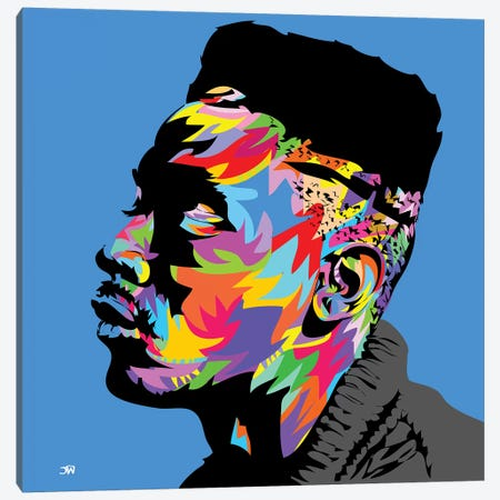 Big Daddy Kane Canvas Print #TDR130} by TECHNODROME1 Canvas Art