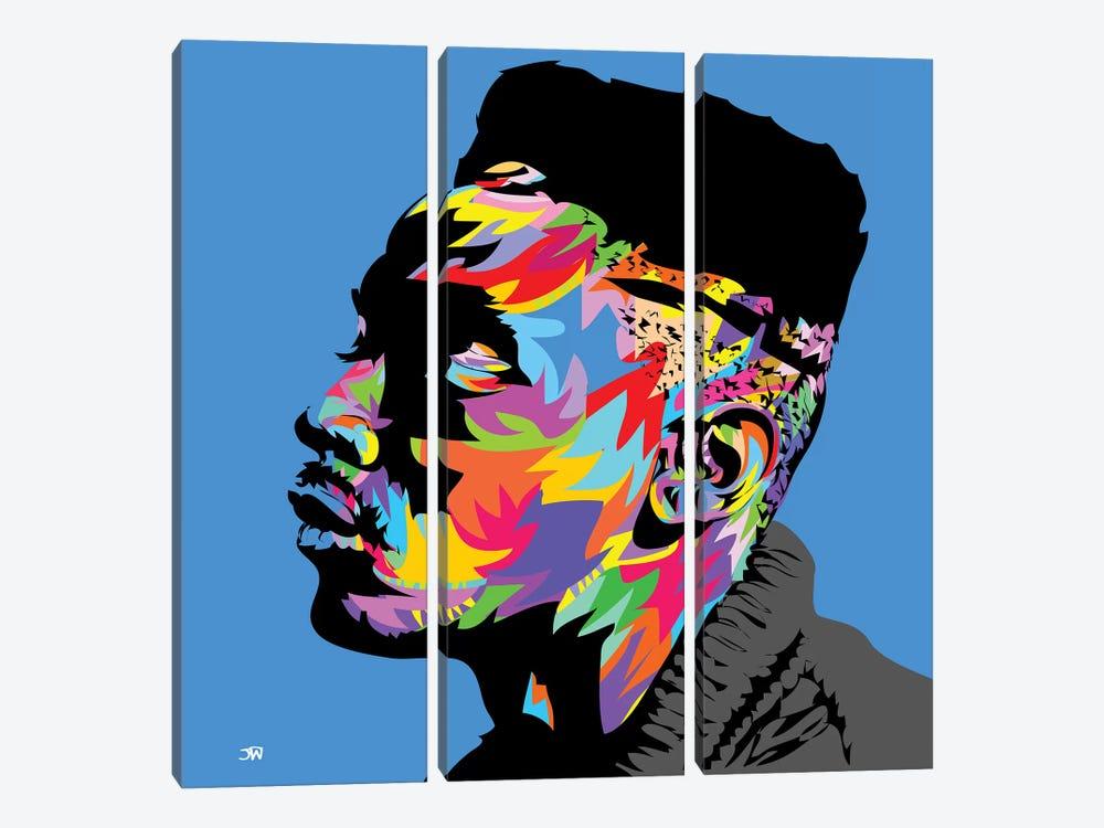 Big Daddy Kane by TECHNODROME1 3-piece Canvas Art