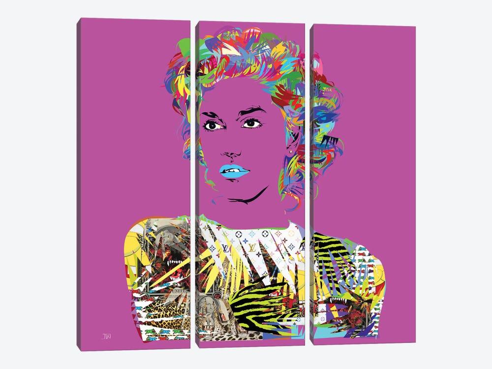 Gwen by TECHNODROME1 3-piece Art Print