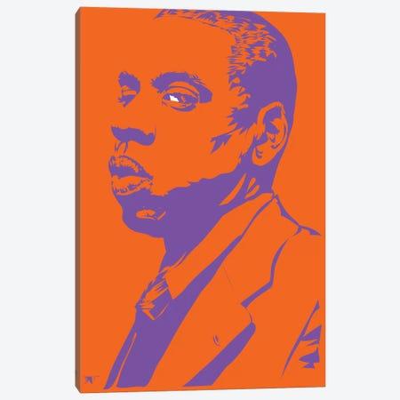 Jay-Z Lizardman Canvas Print #TDR134} by TECHNODROME1 Canvas Print