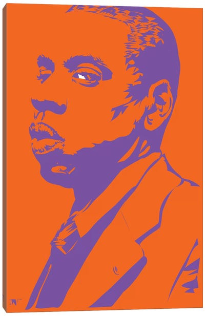 Jay-Z Lizardman Canvas Art Print